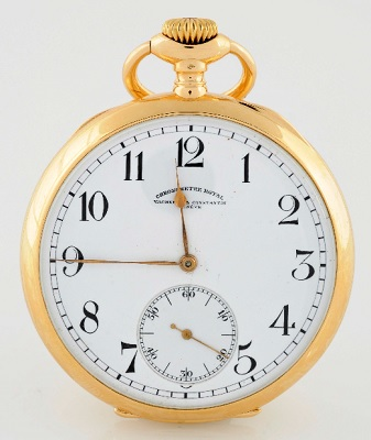 Vacheron and Constantin - Open Face 54mm Pocket Watch